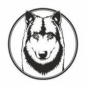 Lobo — Vector de stock