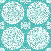 Ornamental winter seamless pattern — Vector de stock