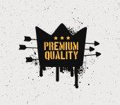 Odznaka jakości premium — Wektor stockowy