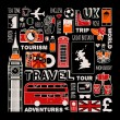 England travel set — Stock Vector #68929291