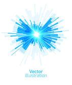Blue geometric background — Stock Vector