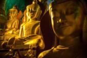 Buddha Statue inside Pindaya Cave in Myanmar - Burma — Stock Photo
