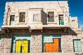Palestinian Empty houses in Hebron — Stock Photo