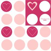 Valentine's day texture — Vector de stock