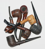A bunch of pipes — Stok fotoğraf