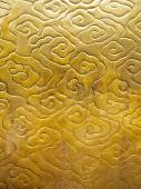 Chinese cloud pattern gold color texture Asian background — Stock Photo