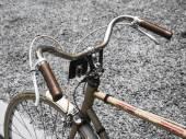 Bicicleta vintage, transporte urbano Hipster — Foto de Stock