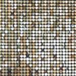 Gold glittering dot pattern Celebration festive Abstract background — Stock Photo #76671193