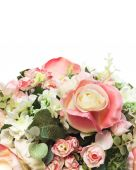Bouquet of Roses isolated — Stockfoto