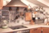 Kitchen background — Stock Photo