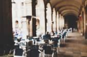 Street cafe in Barselona — Stock Photo