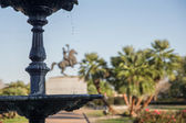 New Orleans - Jackson Square Fountain — Stock Photo