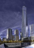 One World Trade Center  In Autumn. — Stock fotografie