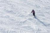 Mountain skier  — Stock Photo