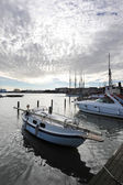 Helsinki, Finland, 28 September: berth Marina in the centre of H — Photo