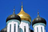 Kubbe haçlar Ortodoks Kremlin Pskov, Rusya ile — Stok fotoğraf