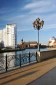 Kaliningrad, Russia - 14 DECEMBER: Fish village in Kaliningrad s — Stock Photo
