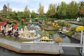 Gunzburg, GERMANY - MAY 6: Legoland - mini Europe from LEGO bric — 图库照片