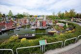 Gunzburg, GERMANY - MAY 6: Legoland - mini Europe from LEGO bric — Stockfoto