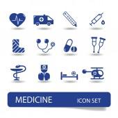медицинский набор символа - вектор — Cтоковый вектор