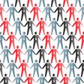 Ilustracja ludzie ikon — Wektor stockowy