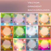 Magical Blurred background — Stock Vector