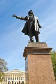Monument to Alexander Pushkin — Stock Photo