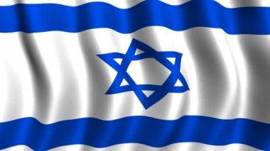 Bandera de israel — Vídeo de Stock