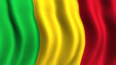 Flag of Mali — Stock Video