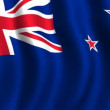 Flag of New Zealand — Stock Video #62432577