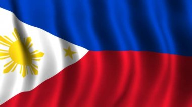 Flag of Philippines — Stock Video