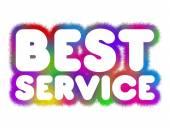 Bästa service — Stockfoto