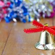 Gold bell christmas — Stock Photo #60250815