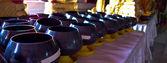 Monk's alms bowl — Stock Photo