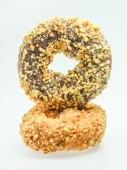 Donut on white background — Stock Photo