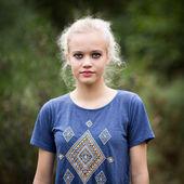 Hermoso blanco de Ángel adolescente — Foto de Stock