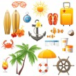 Travel set — Stock Vector #59626127
