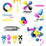 CMYK design elements — Stock Vector #60034681