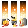 Halloween banners — Stock Vector #60035903