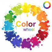 Color wheel — Stockvektor