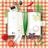 Cookbook — Stock Vector