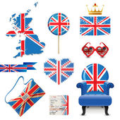 British flag — Stock Vector