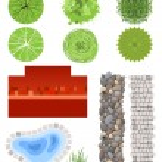 Landscape design elements — Stock Vector #60044151