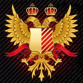 águila heráldica — Vector de stock