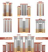 Modern buildings — Stock Vector