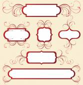 New floral frame — Stock Vector