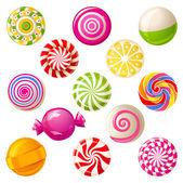 Lollipops — Stock Vector