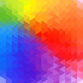 Rainbow geometry background — Stock Vector