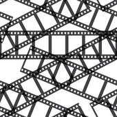Film reel seamless — Stockvektor