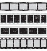 Film reel seamless — Vector de stock